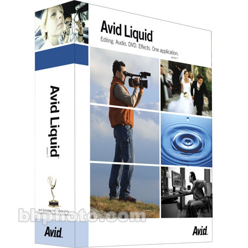 Avid Liquid 7.0 - Professional Video Editing Software for Windows