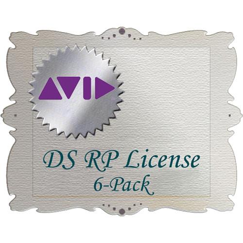 Avid Technologies DS RP License (6 Pack)