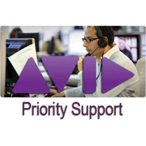 Avid Priority Support for Media Composer Mojo DX - 1 Year