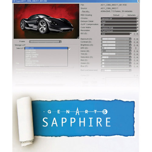 Avid Technologies DS v10 to v10.5 Software Upgrade + GenArts Sapphire Plug-ins Bundle