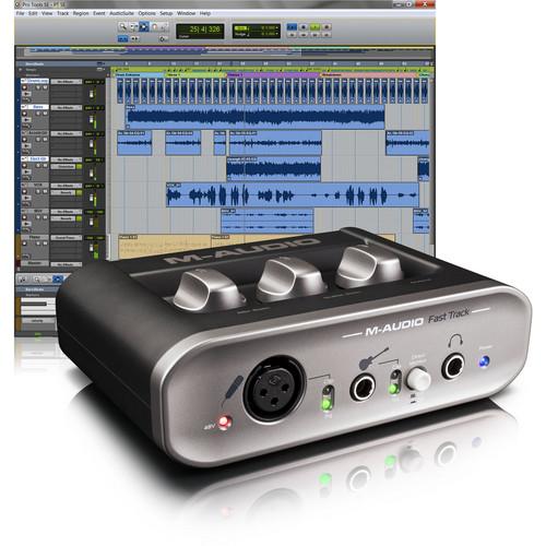 Avid Recording Studio - Vocal and Instrument Recording System