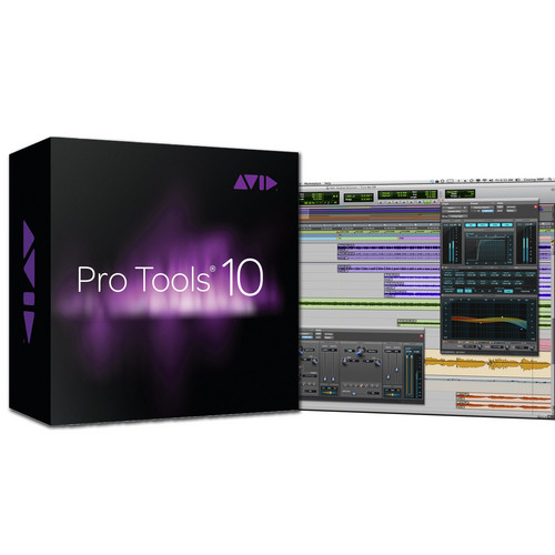 Avid Pro Tools 10 - Professional Audio Recording and Music Creation Software (Boxed)