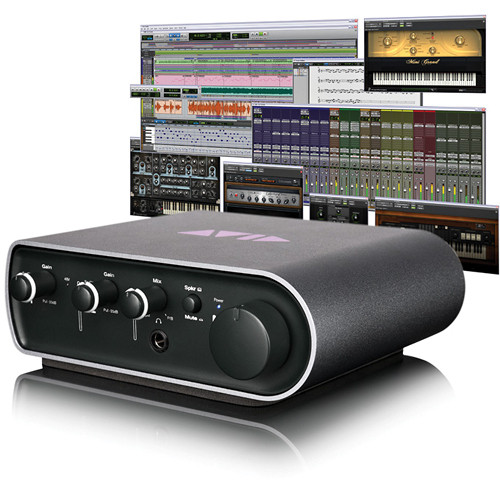 Avid Technologies Pro Tools Express + Mbox Mini - ProTools Studio Bundle (Educational Discount)