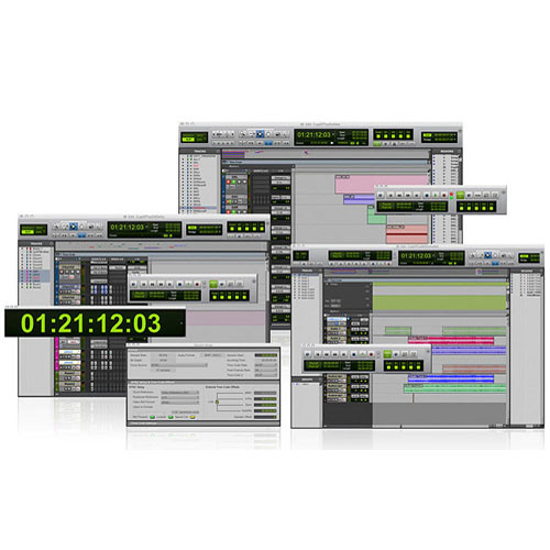 Avid Satellite Link - Software for Controlling Multiple Pro Tools HD Systems