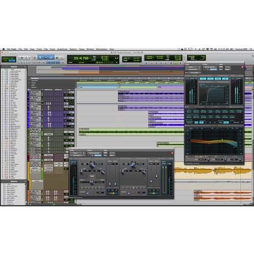 Avid Technologies Pro Tools 10 - Professional Audio Recording and Music Creation Software (Upgrade - Activation Card)