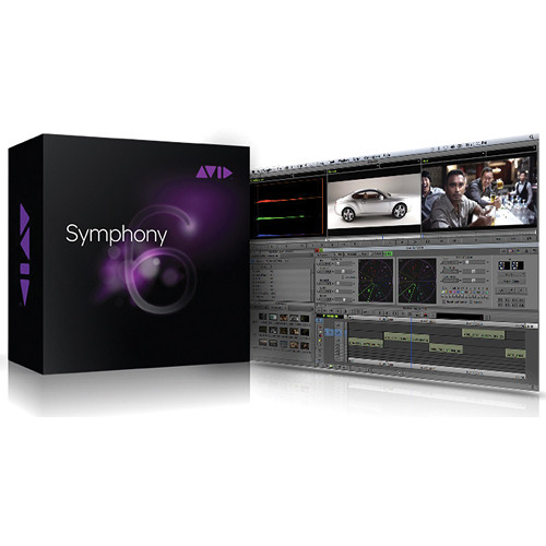 Avid Technologies Symphony 6 for Mac & Windows (Upgrade from Media Composer, Xpress Pro, or Xpress DV)