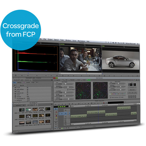 Avid Symphony 6 for Mac & Windows (Crossgrade from Any Version of Final Cut Pro)