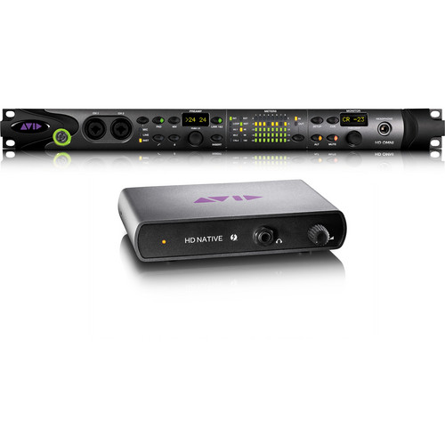 Avid Technologies Pro Tools HD Native Thunderbolt Interface and HD OMNI Interface Bundle