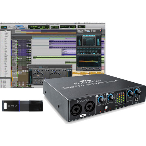 Avid Technologies Pro Tools 10 and Focusrite FireWire Interface Package #1