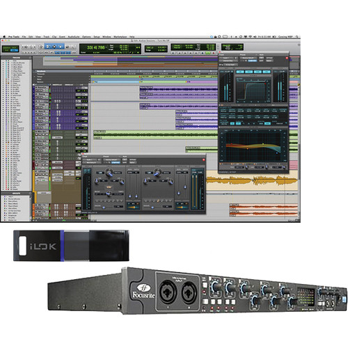 Avid Pro Tools 10 and Focusrite FireWire Interface Package #2
