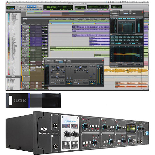 Avid Pro Tools 10 and Focusrite FireWire Interface Package #3