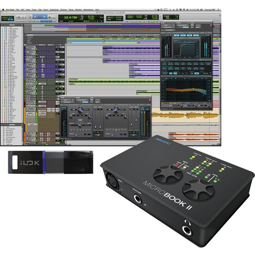 Avid Technologies Pro Tools 10 and MOTU MicroBook II Interface Package