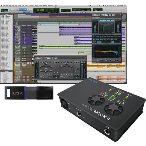 Avid Pro Tools 10 and MOTU MicroBook II Interface Package