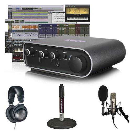 Avid Technologies Pro Tools 9 + Mbox Mini Vocal Studio Bundle (Headphones)