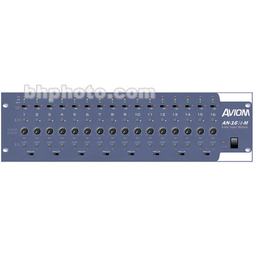 Aviom AN-16/i-M - Microphone Input Module