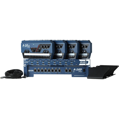 Aviom Mix4 Four-Mix Personal Mixing System