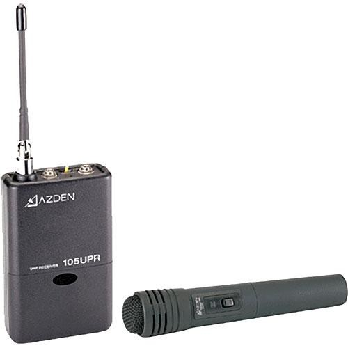 Azden 105HT - 105 Series UHF Wireless Microphone System with 15HT Handheld Transmitter