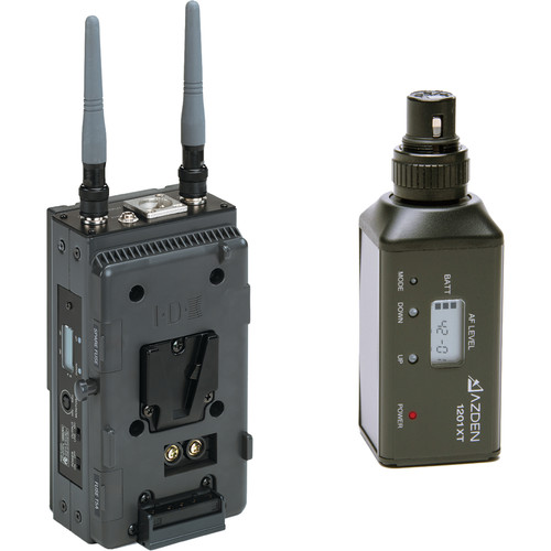Azden 1201 Series - Slot-In Portable Wireless Plug-in Microphone System