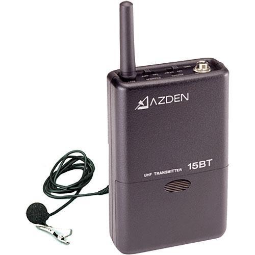 Azden 15BT Beltpack Transmitter for 105 Series UHF Wireless Microphone System