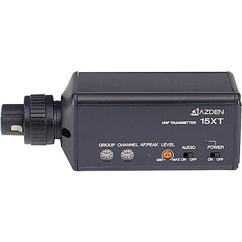 Azden 15XT UHF Plug-In Transmitter for 105UPR Receiver