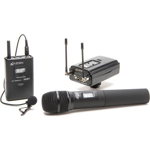 Azden 330LH UHF On-Camera Handheld & Bodypack System