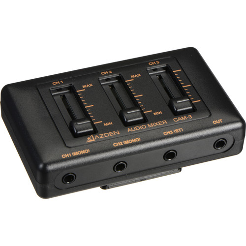Azden CAM-3 3-Channel Mic Mixer