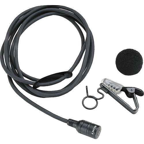 Azden ECM-44H Lavalier Microphone with 4 Pin Connector