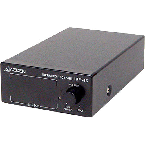 Azden IRR-15 Single Channel Infrared Receiver
