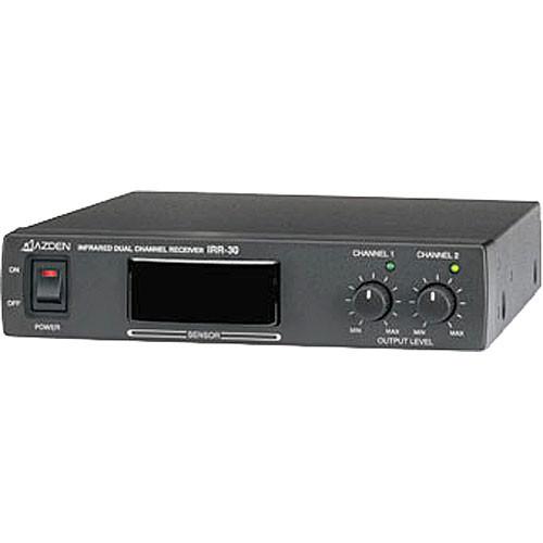 Azden IRR-30 Dual Channel Infrared Receiver