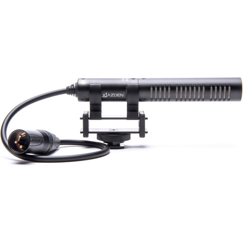 Azden SGM-PDII Mini Shotgun Microphone with Wired Output Cable (XLR)
