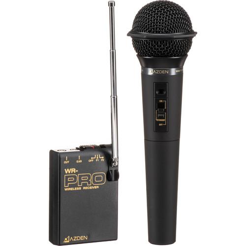 Azden WHX-PRO VHF Handheld Wireless Microphone System