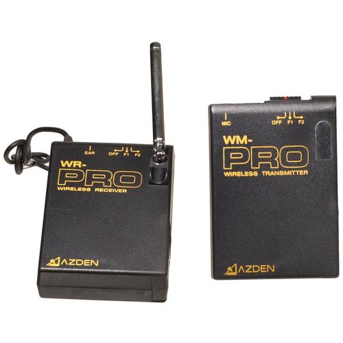 Azden WLX-Pro/I Camera Mountable VHF Wireless Lavalier/Headworn Mic System