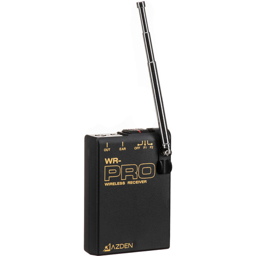 Azden WR-PRO VHF Receiver for Pro Series