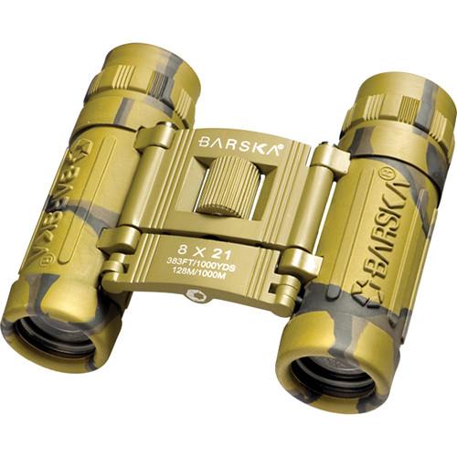 Barska 8x21 Lucid View Binocular (Camouflage)