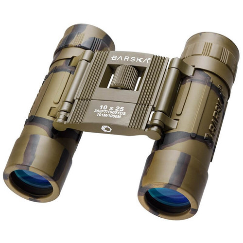 Barska 10x25 Lucid View Binocular - Camo
