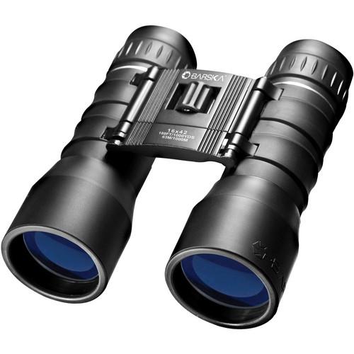 Barska 16x42 Lucid View Binocular (Black)