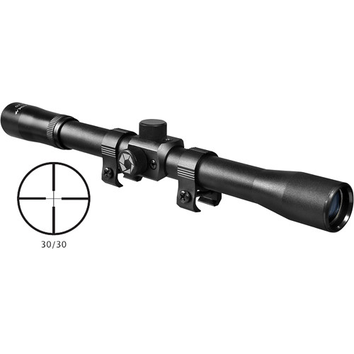Barska 4x15 Rimfire Riflescope (Black Matte)