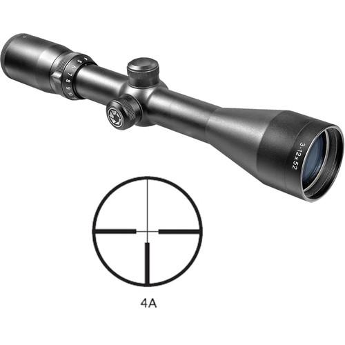 Barska 3-12x52 Euro-30 Riflescope (Black Matte)