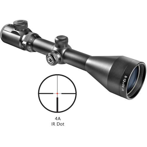 Barska 3-12x50 Euro-30 Pro Riflescope (Black Matte)