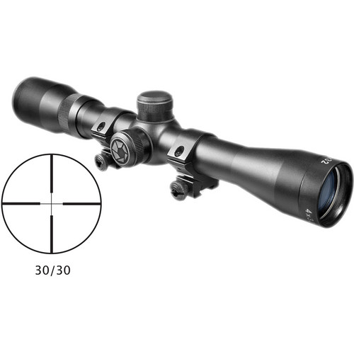 Barska 4x32 Plinker-22 Riflescope (Black Matte, Clamshell Packaging)