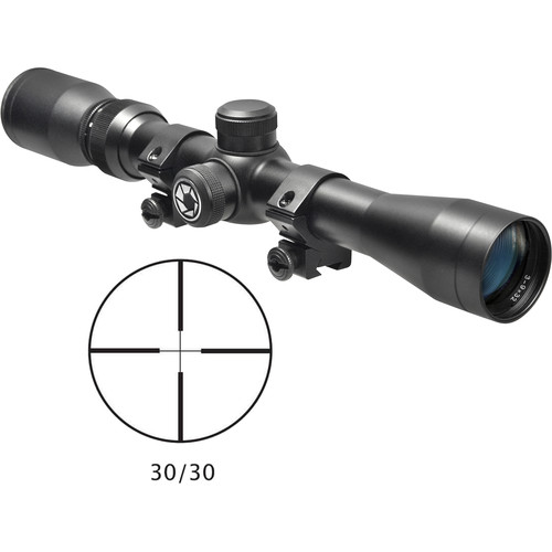 Barska 3-9x32 Plinker-22 Riflescope (30/30 Reticle, Matte Black, Boxed)