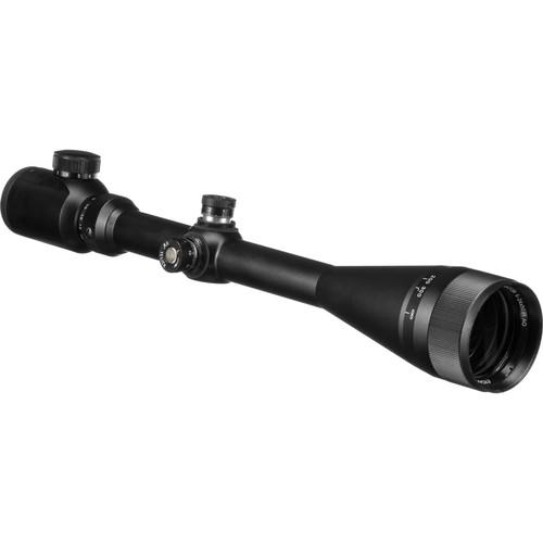Barska 6-24x50 Excavator Riflescope (Illuminated IR Target Dot Reticle, Matte Black)