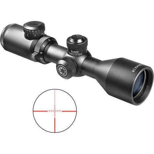 Barska 3-9x42 IR Contour Riflescope (Illuminated IR 4A Mil-Plex Reticle, Black Matte)