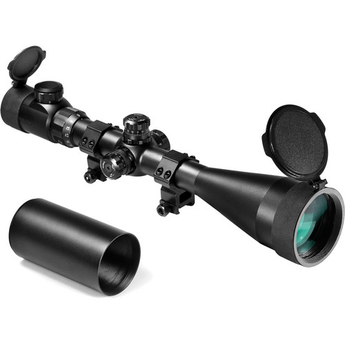 Barska 6-24x60 IR SWAT Sniper Scope (Mil-Dot Illuminated Reticle, Matte Black)