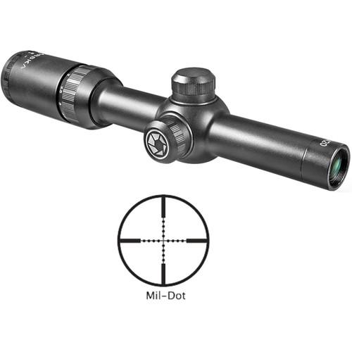 Barska 1.5-4.5x20 Tactical Riflescope (Mil-Dot Reticle, Matte Black)