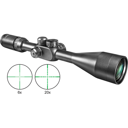 Barska 6-20x40 Tactical Riflescope (Black Matte)