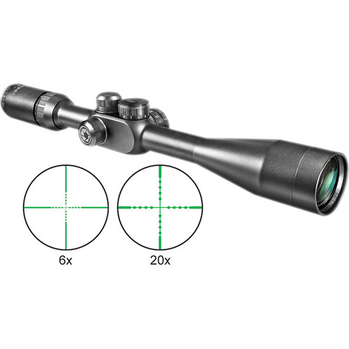 Barska 6.5-20x40 Tactical Riflescope (Black Matte)