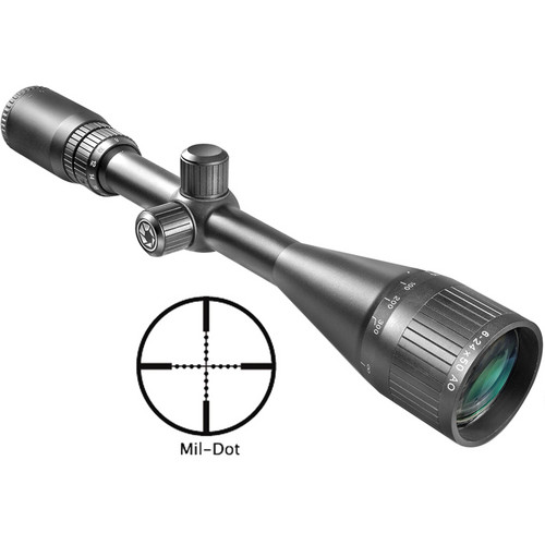 Barska 8-32x50 AO Varmint Riflescope (Black Matte)