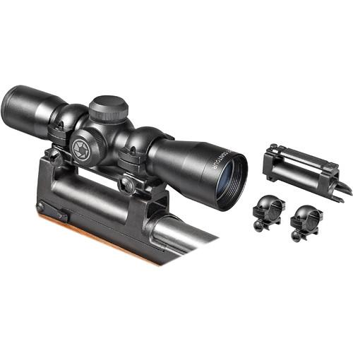 Barska 4x32 Contour Riflescope (Black Matte)