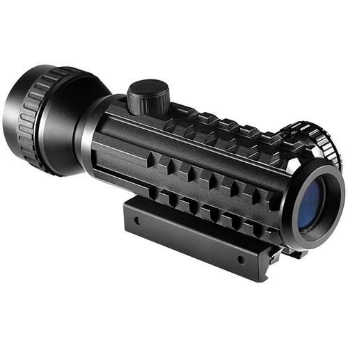 Barska 2x Tactical Red Dot Sight (5 MOA Red Dot Reticle, Black Matte)